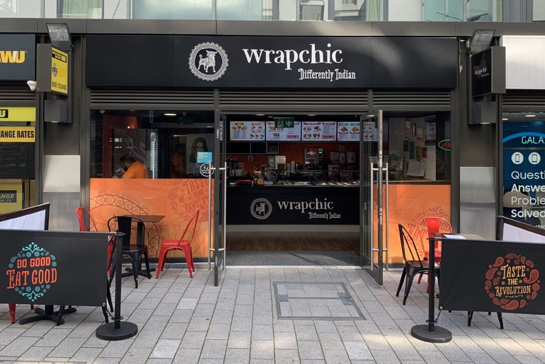 Indian Street Food Restaurant Wrapchic Opens At Ldo London