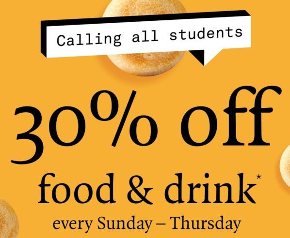 Pizza Express Students Get 30 Off Food Drink London