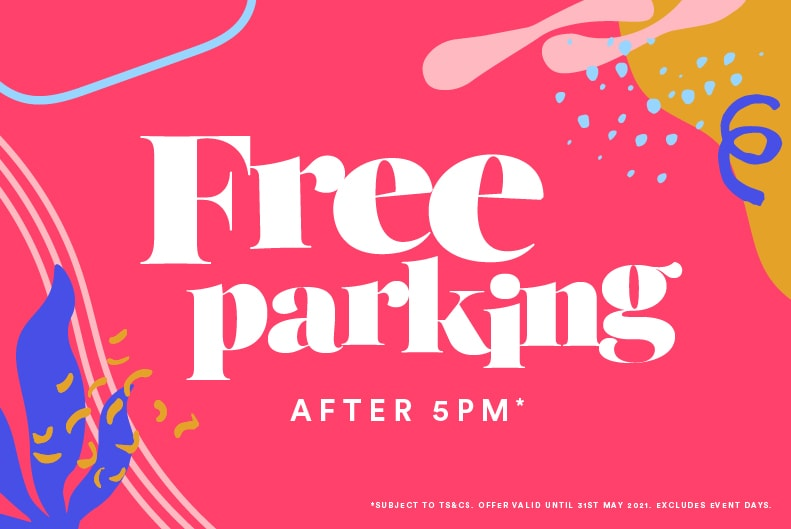 Free Parking after 5pm – Now Ended