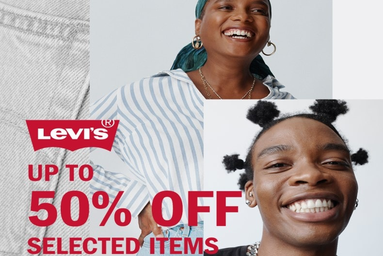 Levi's® UP TO 50% OFF SELECTED ITEMS and 20% off when you spend £130