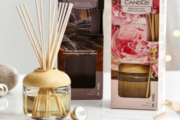 Yankee Candle save 30% off Reed diffusers