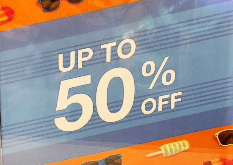 Sunglass Hut Up to 50% off Sunglasses and 30% off second pair