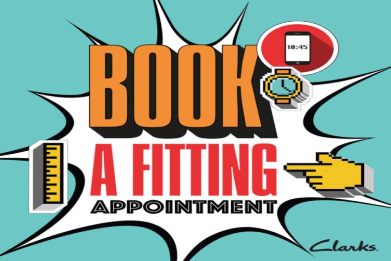 Clarks Outlet Fitting Appointments