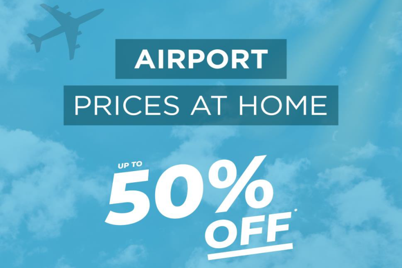 The Fragrance Shop Up to 50% off* Airport Prices At Home