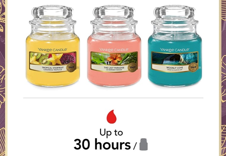 Yankee Candle Small Jars £6.29 each, 3 for £15 or 6 for £27